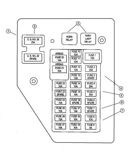 2005 dodge durango fuse box diagram dodge durango fuse box locations get free image about