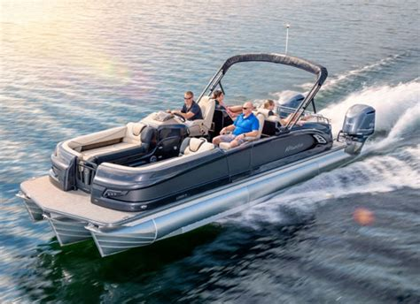 brands of fishing pontoon boats buying guide manitou pontoon boats
