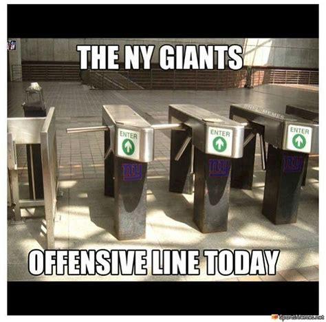 Ny Giants Suck Memes - giants offensive line meme
