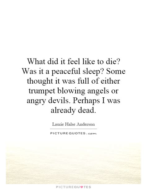 sleep quotes shakespeare what did it feel like to die was it a peaceful sleep