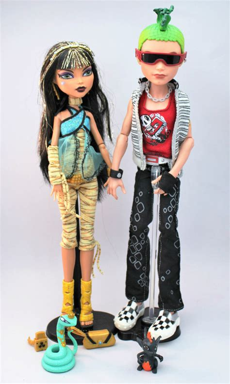 Cleo Set cleo de nile and deuce gorgon set high dolls aud