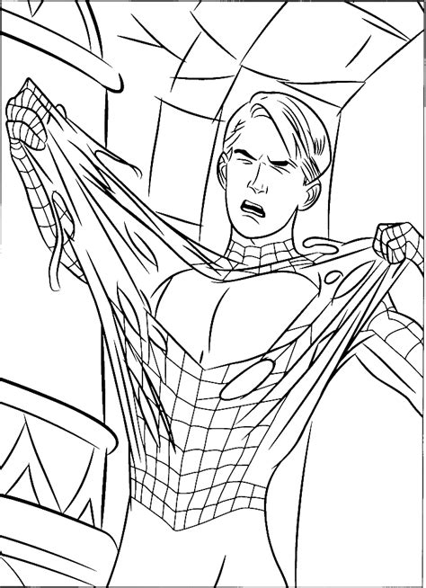 spiderman coloring pages pdf download spiderman attempted escape coloring pages spiderman