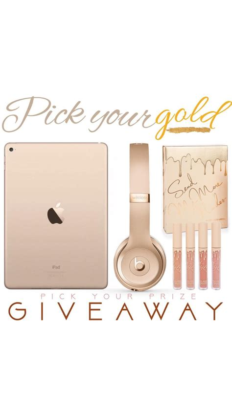 How To Win Giveaways On Instagram - giveaway win an ipad beats by dre headphones makeup mystylespot