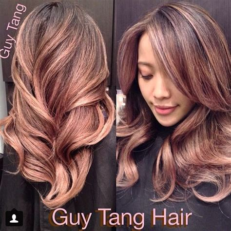 which hair color from sallys rose gold guy tang antique rose gold ombre hair envy pinterest