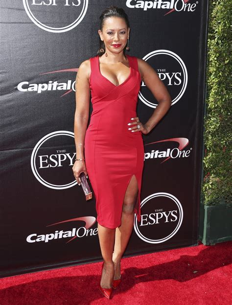 Catwalk To Carpet Melanie Brown In Rm By Roland Mouret by Melanie Brown Picture 85 The 2015 Espys Carpet