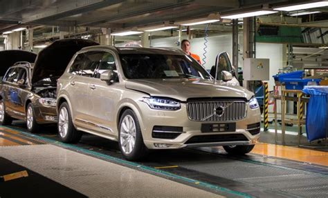 volvo truck manufacturing plants volvo plans to open u s factory news car and driver
