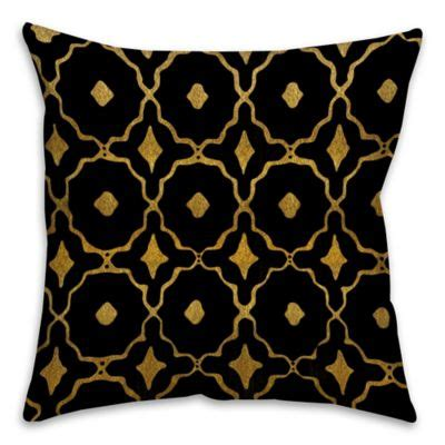 Gold Sofa Pillows Gold With Brown Baroque Pattern Throw Gold Sofa Pillows