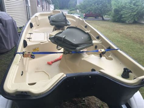 sun dolphin boat trailer sun dolphin pro 10 2 two seat 10 2 quot fishing boat with