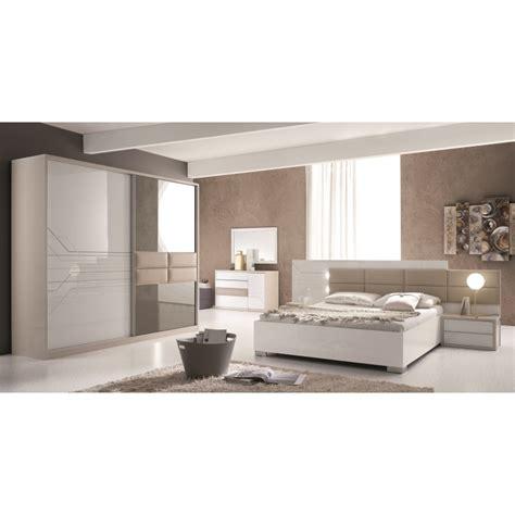 billiger schlafzimmer schlafzimmer tijana in beige weiss 6tlg tij set01