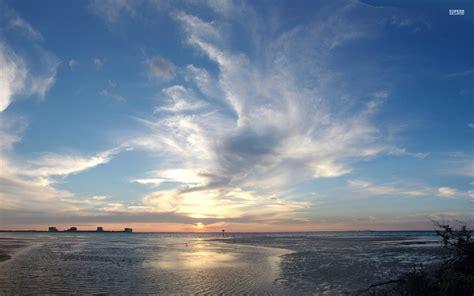 amazing ocean horizon sunset wallpapers amazing ocean