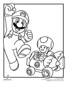 mario coloring pages mario kart toad coloring page coloring home