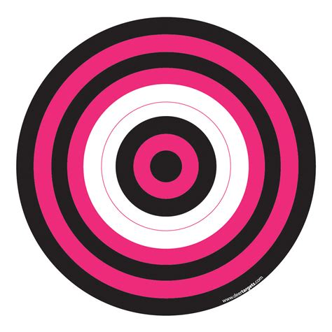 printable bow shooting targets paper archery targets pictures to pin on pinterest pinsdaddy