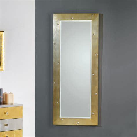 specchi da specchio da muro terra design moderno con cristalli