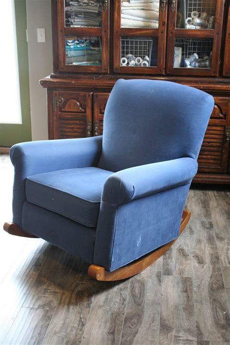 upholstered rocking chair slipcover custom slipcovers by shelley striped upholstered rocker