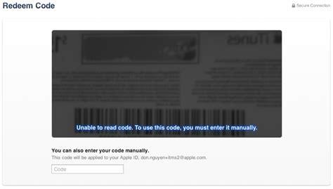 Itunes Gift Card Already Redeemed - access denied