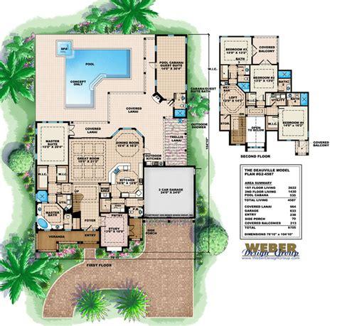 covill cabana coastal home plans cabana house plans beach home floor plans with cabanas
