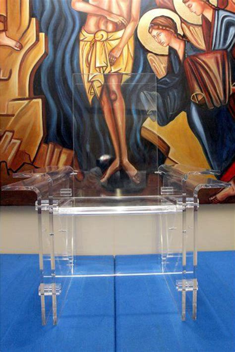arredi in plexiglass arredi in plexiglass per sale liturgiche cammino