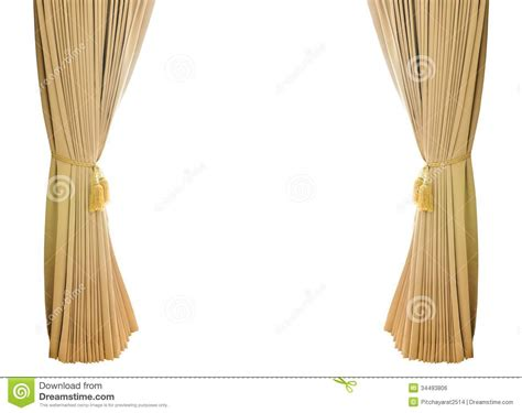 Home Decoration Curtains gold luxury curtains stock photo image of home