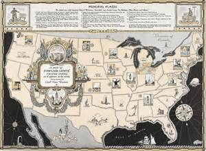 map usa historical united states map collection
