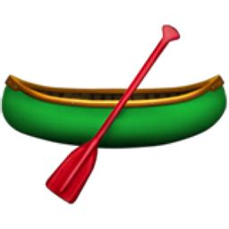 apple emoji 10 2 ttf canoe emoji u 1f6f6