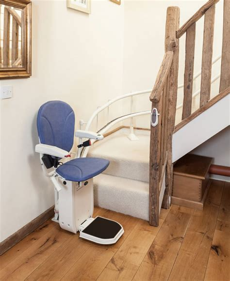 Chair Lift For Stairs by Curved Stair Lift Ameriglide Platinum Stair Lifts 101