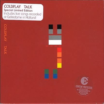 talk coldplay testo swallowed in the sea live in coldplay