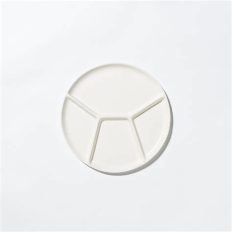 sectional plate large sectional plate felt fat