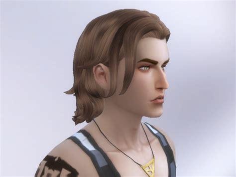 long hairstyles for men sims 4 long wavy swept hair retexture at tatyana name 187 sims 4