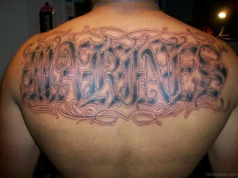 english letter tattoo designs 84 beautiful tattoos on back