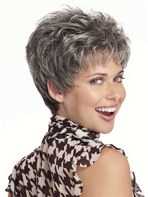 pretty hairstyles for gray hair best 25 short grey haircuts ideas on pinterest short