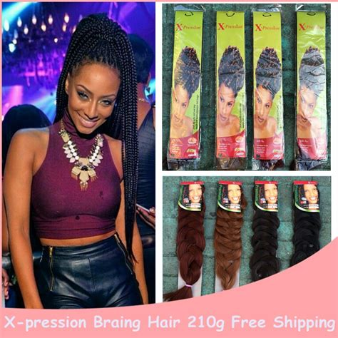 marley hair xpressions kanekalon braiding hair colors reviews online shopping