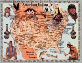 indian tribes of map image detail for map of american tribes