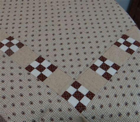 patchwork quilt baby quilt quilt brown tones