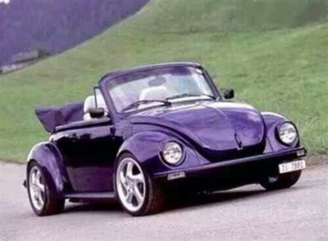 purple convertible fusca tunado convertible purple and porsche wheels