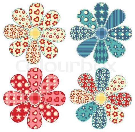 Patchwork Applique Patterns Free - 1294 best floral clipart images on clip