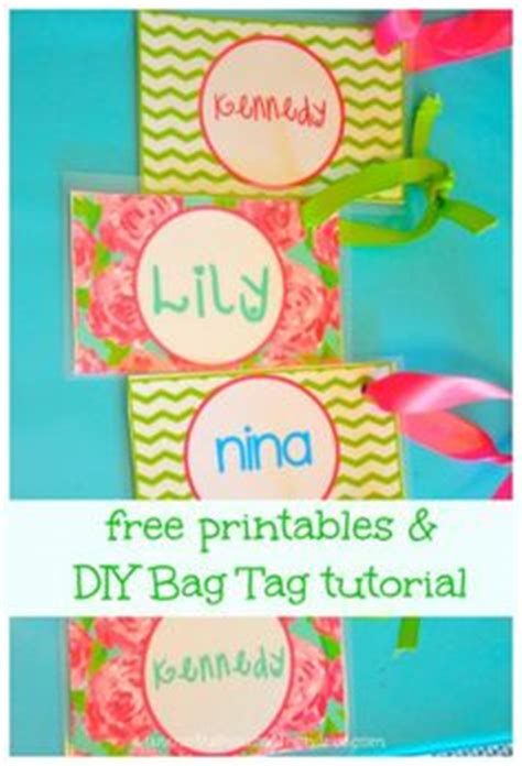 Back To School Free Printable And Diy Personalized Bag Tags For Lunch Box And Backpack Cheer Bag Tag Template