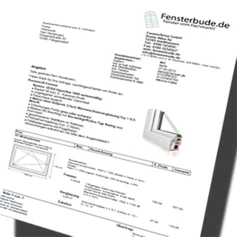 Muster Angebot Montage Angebotssoftware F 252 R Fenster T 252 Ren Und Bauelemente Software Fensterhandel Fensterbausoftware