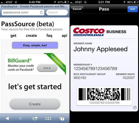 Add Gift Card To Passbook - add unsupported passes cards and tickets to passbook ios tips cult of mac