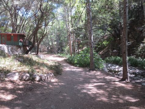 Sturtevant Falls Cabins by Sturtevant Falls Hike Los Angeles The Hikers Way