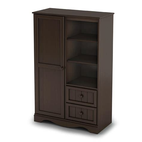 Baby Armoire by South Shore Collection Door Chest Espresso Baby