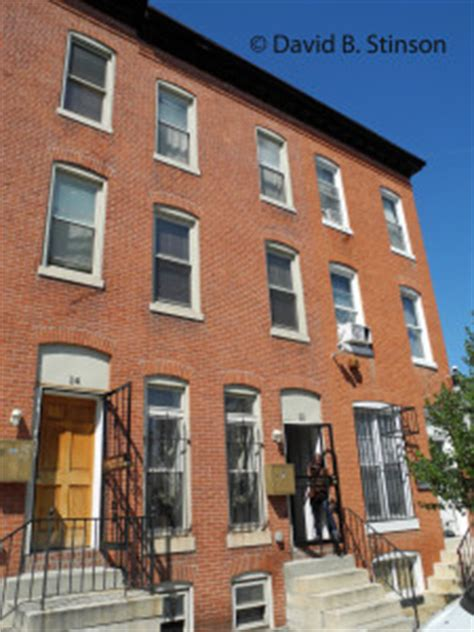 boarding baltimore mcgraw s and wilbert robinson s former baltimore homes damaged by