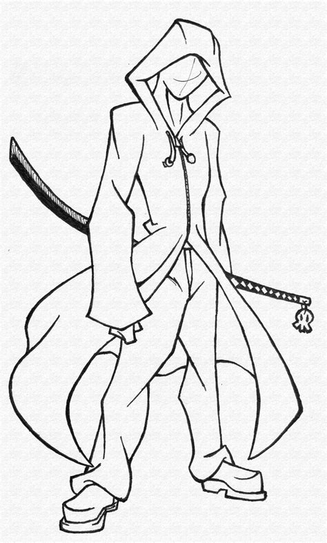 anime character template drawing sketch anime characters sketch coloring page