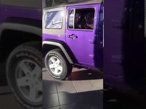jeep purple 2017 extreme purple 2017 jeep wrangler unlimited sport youtube