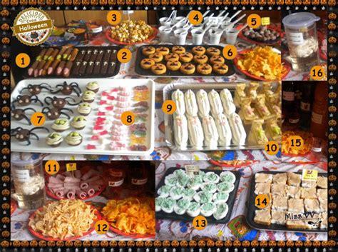repas thème halloween repas et buffets d halloween pour les enfants et pour