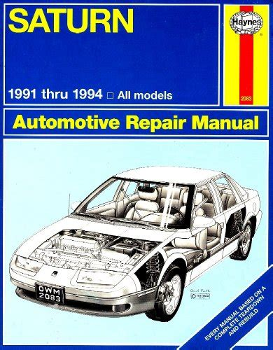 ean 9781563920837 saturn automotive repair manual 1991 thru 1994 all