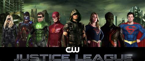 Tas Cw cw s justice league fancast by seandeaon