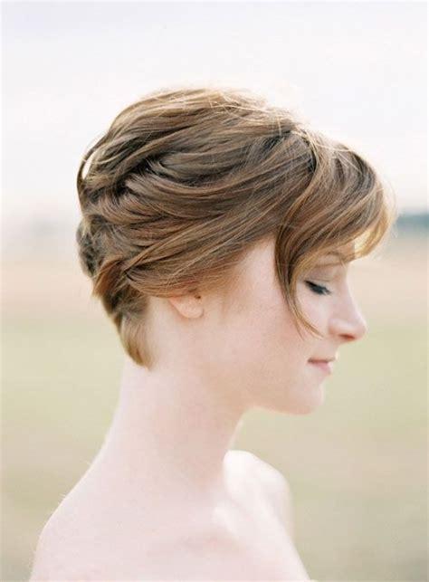 bridal hairstyles very short hair bridesmaid hairstyles for short hair popular haircuts
