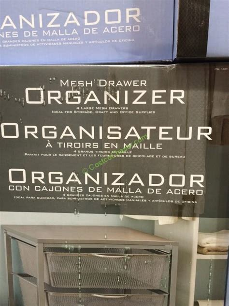 Kitchen Cabinet Organizers Costco Mesh Drawer Organizer Costcochaser