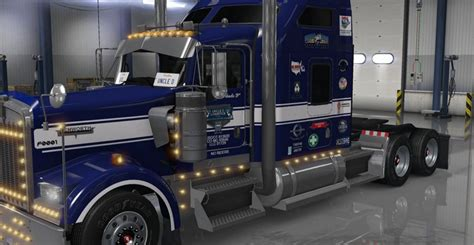 kenworth trucks 2016 uncle d logistics 2016 kenworth w900 mod mod ats mod