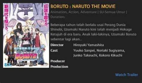 boruto platinum boruto naruto the movie hadir di cibinong solo sidoarjo